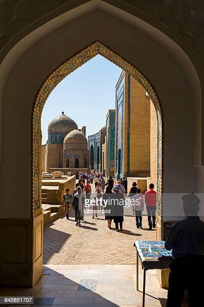 UZB Usbekistan Uzbekistan Samarkand die Hauptstadt von Tamerlan 2500 Jahre alte Geschichte das Rom des Ostens Unesco Welterbe Weltkulturerbe...