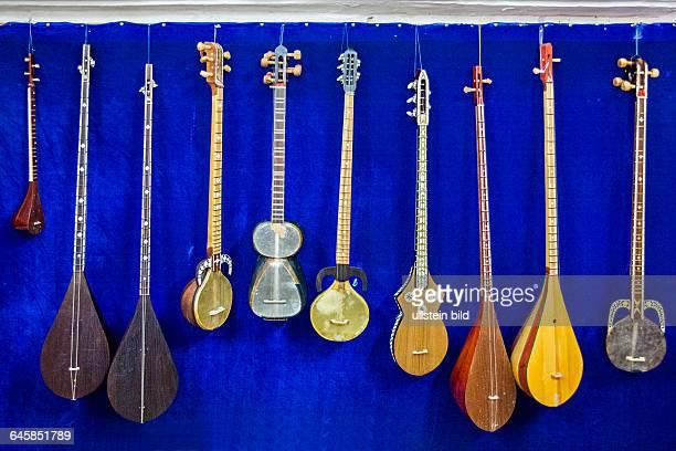 Usbekistan, Uzbekistan, typische usbekische Musikinstrumente, Musik, Instument, Musikinstrument, traditionell, Aufnahmedatum:2014, Zentralasien,...