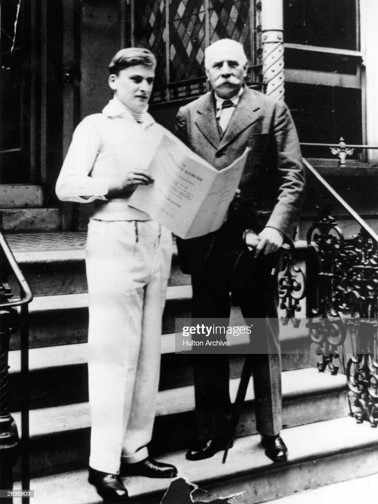 Menuhin And Elgar : News Photo