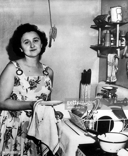 USBürgerinangebliche Sowjetagentin1953 mit Ehemann Julius RosenberghingerichtetAufnahme 1951