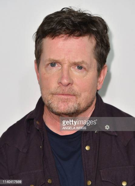 US/Canadian actor Michael J Fox attends Tribeca Talks Storytellers at the 2019 Tribeca Film Festival at BMCC Tribeca PAC on April 30 2019 in New York...