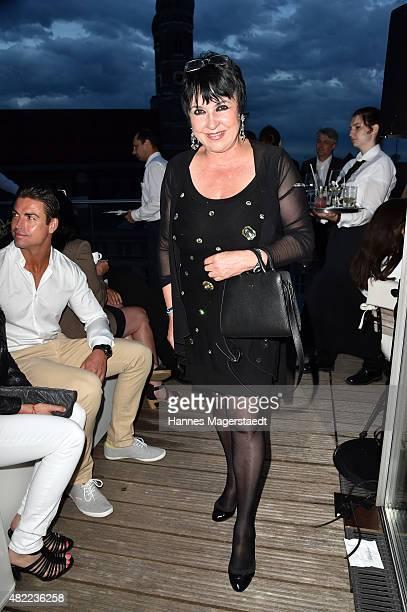 Uschi Ackermann attends the summer party at Hotel Bayerischer Hof on July 28 2015 in Munich Germany