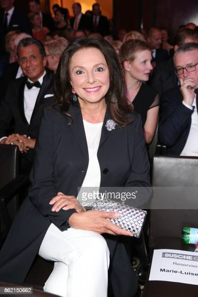 Uschi Daemmrich von Luttitz during the 2oth 'Busche Gala' at The Charles Hotel on October 16 2017 in Munich Germany
