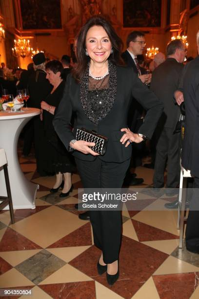 Uschi Daemmrich von Luttitz during the new year reception of the Bavarian state government at Residenz on January 12 2018 in Munich Germany