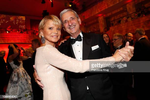 Uschi Glas and Dieter Hermann during the 46th German Film Ball at Hotel Bayerischer Hof on January 26 2019 in Munich Germany