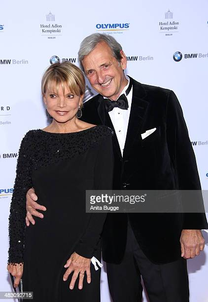 Uschi Glas and DieterHermann attend the Felix Burda Award 2014 at Hotel Adlon on April 6 2014 in Berlin Germany