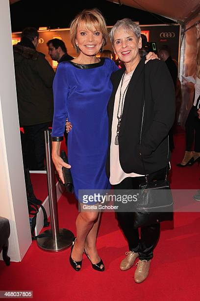 Uschi Glas and Heidi Kranz attend the Bild 'Place to B' Party during the 64th Berlinale International Film Festival on February 8 2014 in Berlin...