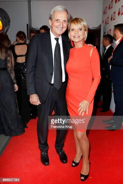 Uschi Glas and her husband Dieter Hermann attend the Ein Herz Fuer Kinder Gala reception at Studio Berlin Adlershof on December 9 2017 in Berlin...
