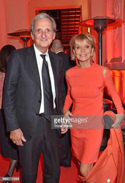 Uschi Glas and her husband Dieter Hermann attend the Ein Herz Fuer Kinder Gala 2017 After Show Party at Borchardt Restaurant on December 9 2017 in...