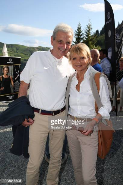 Uschi Glas and her husband Dieter Hermann during the first Ladies Day and start of the Queens Club hosted by Maria HoeflRiesch on June 26 2020 at...