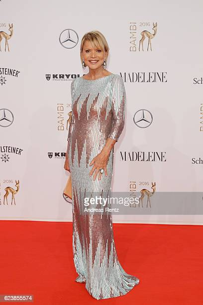 Uschi Glas arrives at the Bambi Awards 2016 at Stage Theater on November 17 2016 in Berlin Germany