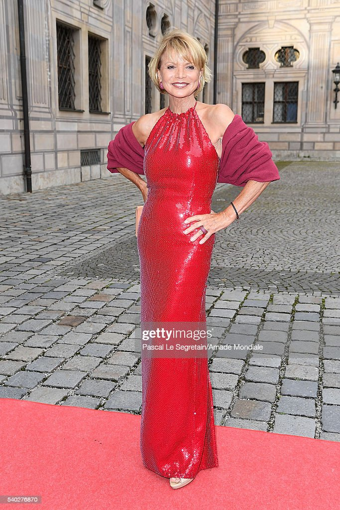 Uschi Glas attends the AMADE Deutschland Charity dinner on June 14, 2016 in Munich, Germany.