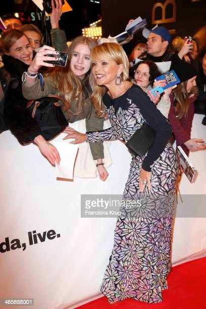 Uschi Glas attends the Bambi Awards 2013 at Stage Theater on November 14 2013 in Berlin Germany