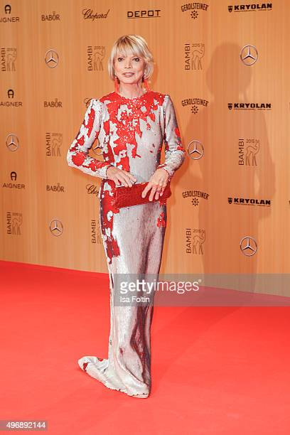 Uschi Glas attends the Bambi Awards 2015 at Stage Theater on November 12 2015 in Berlin Germany