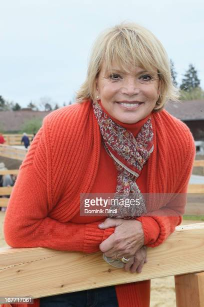 Uschi Glas attends the Gut Aiderbichl Iffeldorf Opening on April 28 2013 in Iffeldorf Germany