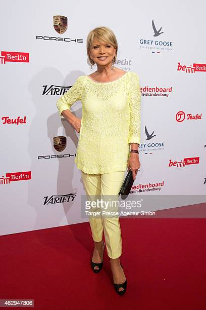 Uschi Glas attends the Medienboard BerlinBrandenburg Reception at Ritz Carlton on February 7 2015 in Berlin Germany
