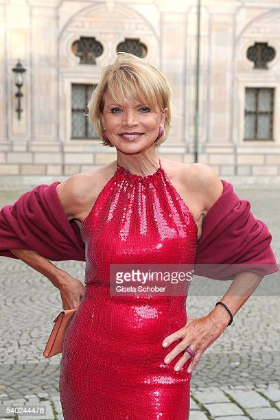 Uschi Glas during a charity dinner hosted by AMADE Deutschland and Roland Berger Foundation at Kaisersaal der Residenz der Bayerischen...
