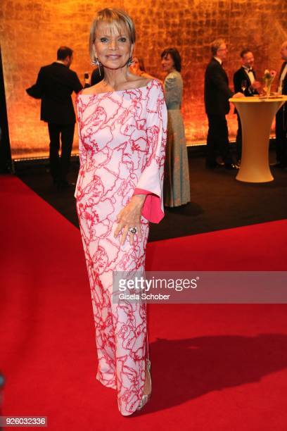 Uschi Glas during the Goldene Kamera reception on February 22 2018 at the Messe Hamburg in Hamburg Germany