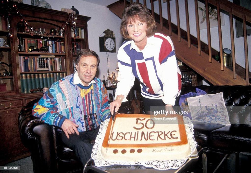 Uschi Nerke Ehemann Gunther Petersen Homestory Zum 50 Geburtstag