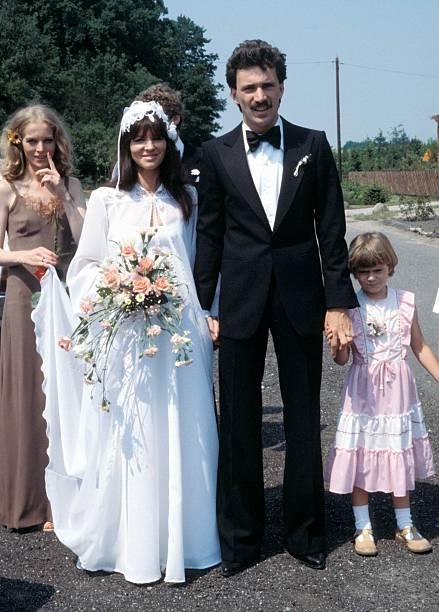 Uschi Nerke, Ehemann Peter Giesecke, kirchliche Hochzeit, Scheeß ...
