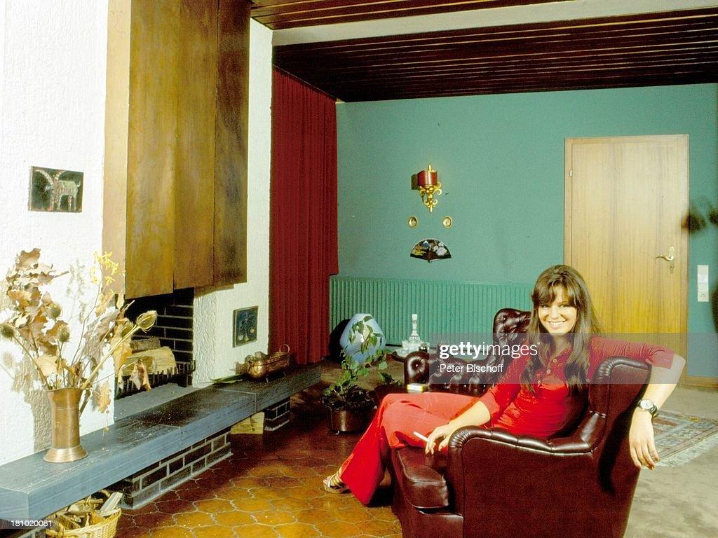 Uschi Nerke, Homestory, Penthouse-Wohnung, Bremen, 01.07.1976, W ...