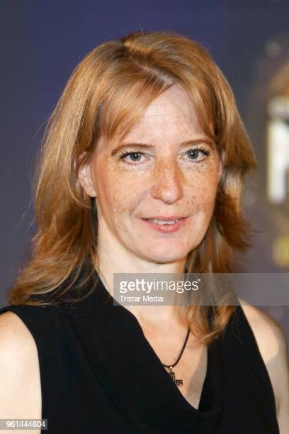 Uschi Neuss attends the presentation of the musical 'Paramour' on May 22 2018 in Hamburg Germany