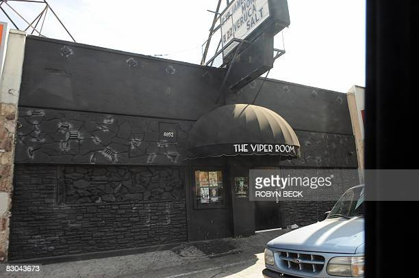 MuSICTOURISMOFFBEAT The Viper Room in West Hollywood California is pictured where actor River Phoenix died in 1993 of a drug overdose one of the...