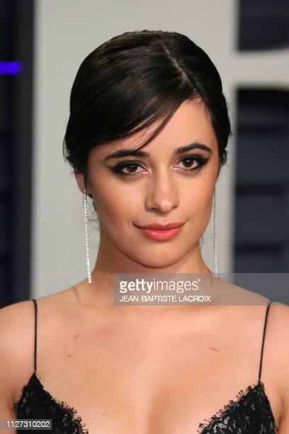 USCuban singer Camila Cabello attends the 2019 Vanity Fair Oscar Party following the 91st Academy Awards at The Wallis Annenberg Center for the...