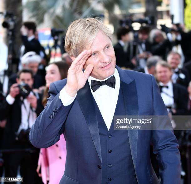Danish actor Viggo Mortensen arrives for the Closing Awards Ceremony of the 72nd annual Cannes Film Festival in Cannes France on May 25 2019