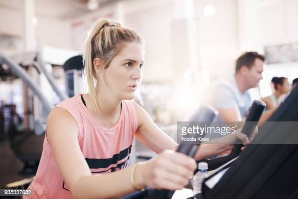 Use an exercise machine, become a fitness machine