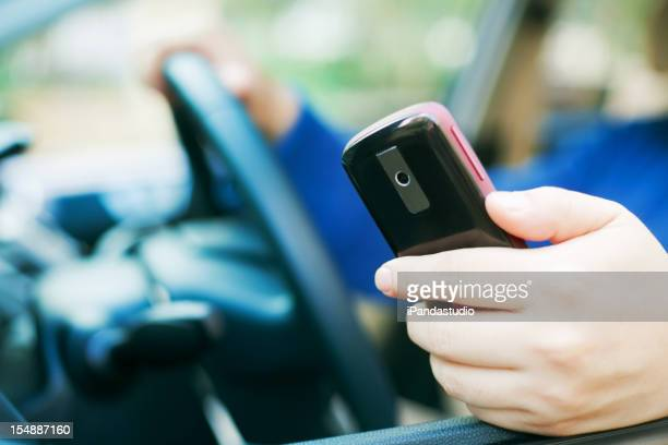 Use cellphone when driving