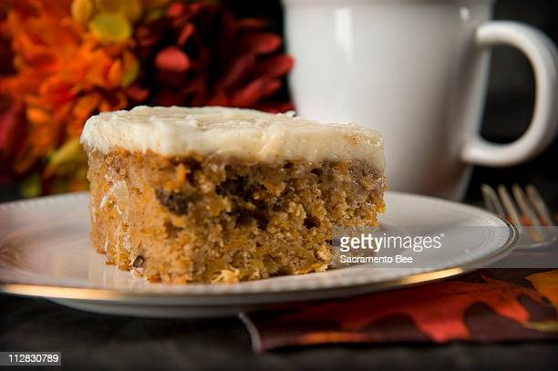 Use shredded butternut squash to your favorite carrot cake recipe