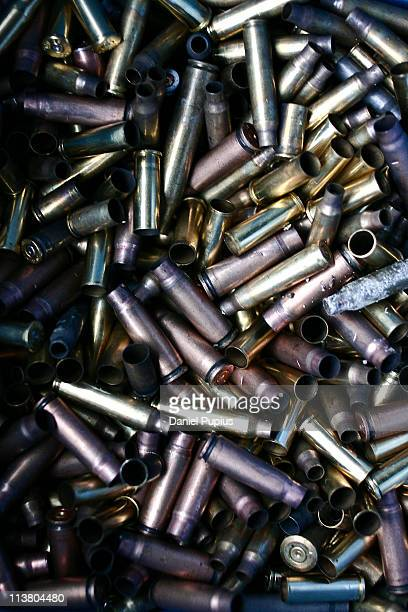used ammo - ammunition stock pictures, royalty-free photos & images