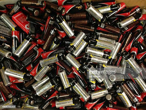 Used batteries