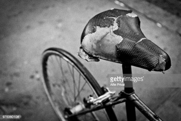 used bike - fine art portrait stock pictures, royalty-free photos & images