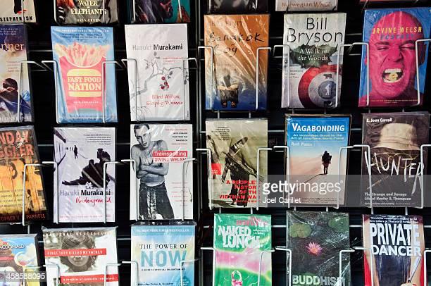 Used books on Khao San Road, Bangkok, Thailand