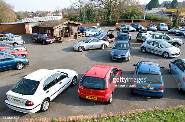 Used Car Dealership Forecourt 2009 Artist Unknown
