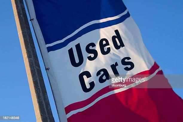 Bandera de coches usados