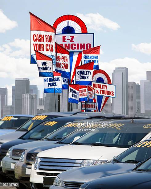 Used Car Lot (Digital Composite)