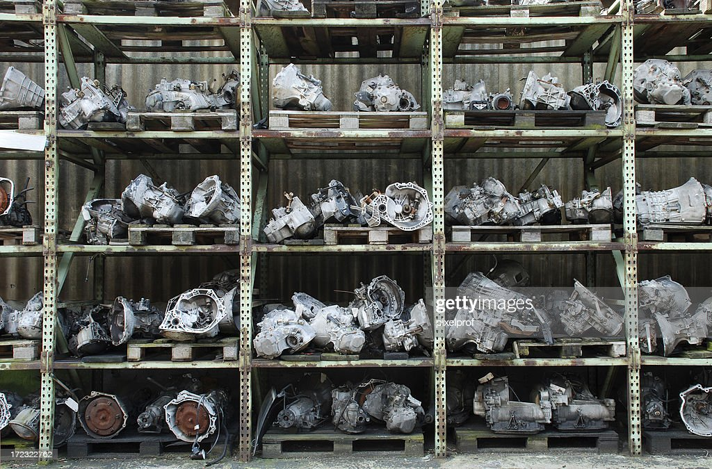 Used care engines for sale : Stock Photo