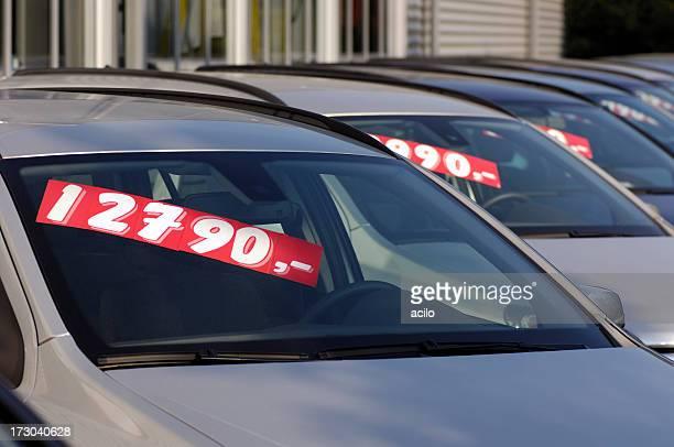 Autos zum Verkauf verwendet