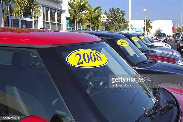 used cars for sale - 2008 stock pictures, royalty-free photos & images
