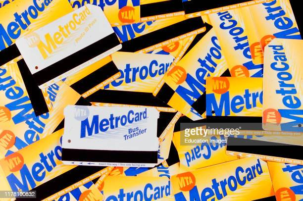 Used Metro cards.