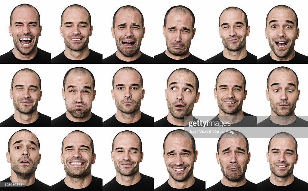 Nützliche Gesichter : Stock-Foto