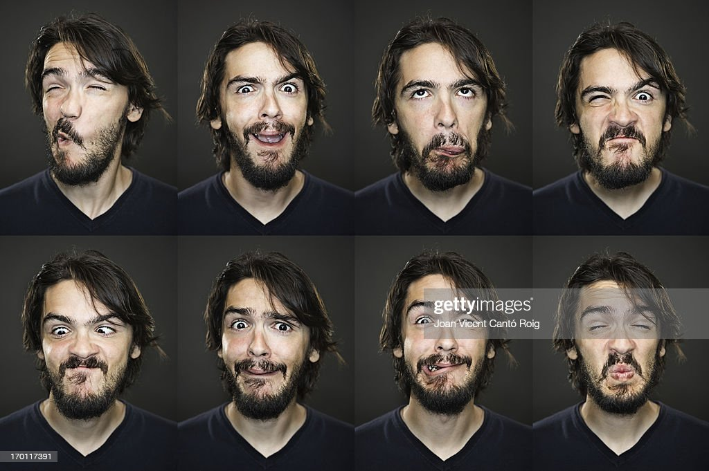 Useful faces : Stock Photo