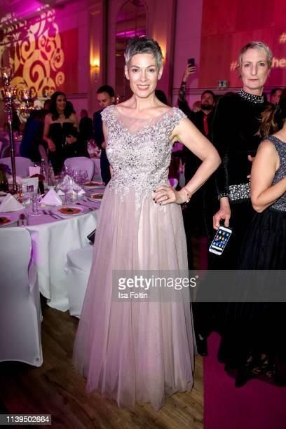 German actress Cheryl Shepard attends the Gloria - Deutscher Kosmetikpreis at Hilton Hotel on March 30, 2019 in Duesseldorf, Germany.