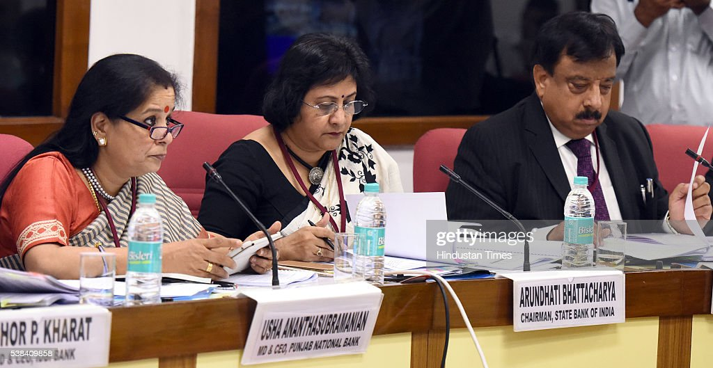 Usha Anantha Subramanian MD and CMD Punjab National Bank Arundhati Bhattacharya Chairman State Bank of India Ashwani Kumar Chairman and Managing...