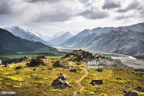 paisagem de ushaia na argentina - argentina - fotografias e filmes do acervo