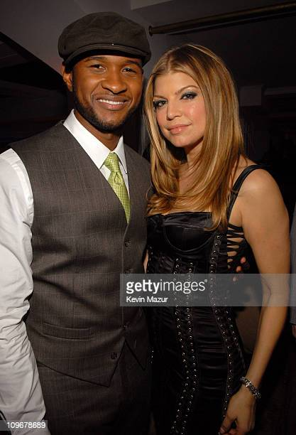 Usher and Fergie at the Conde Nast Media Group Presents 2007 Movies Rock on December 2 2007 in Los Angeles