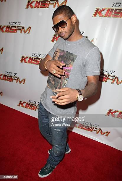 Usher arrives at KIIS FM's Wango Tango 2010 at the Staples Center on May 15 2010 in Los Angeles California